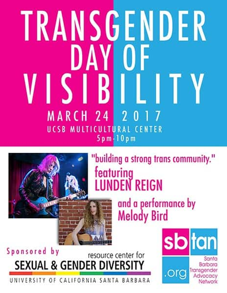 Transgender Day of Visibility Poster